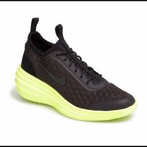 Nike lunar wedged sneakers